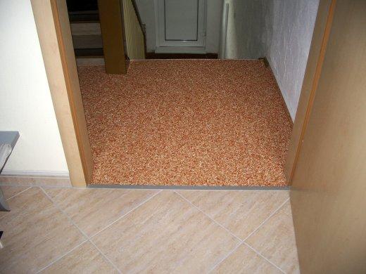 kieselsteinteppich als fu boden in rutesheim flacht bilder. Black Bedroom Furniture Sets. Home Design Ideas