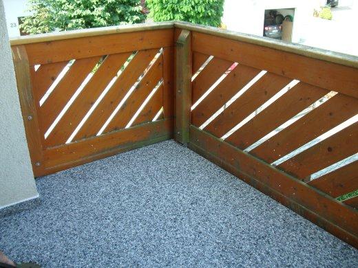 steindesign balkon mit steinteppich bilder. Black Bedroom Furniture Sets. Home Design Ideas