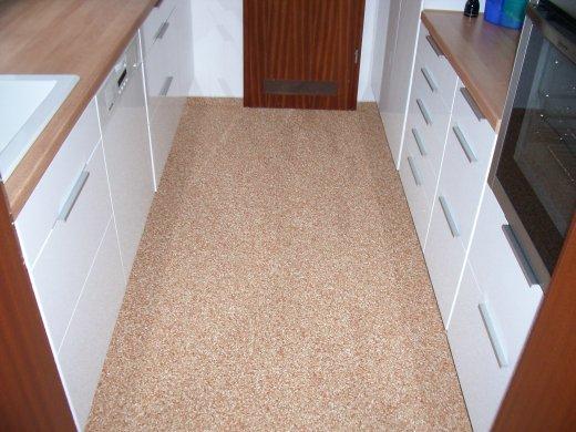 Küchenboden steinteppich als küchenboden mit steindesign bilder