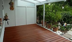 balkon mit belag aus bangkirai sinzheim bei baden baden. Black Bedroom Furniture Sets. Home Design Ideas
